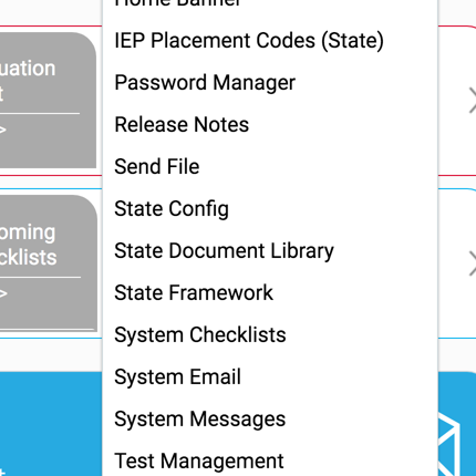 Statewide IEP software